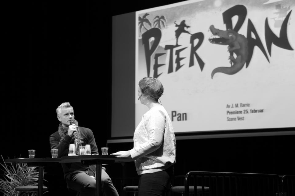 Lansering av Peter Pan, Hålogaland Teater