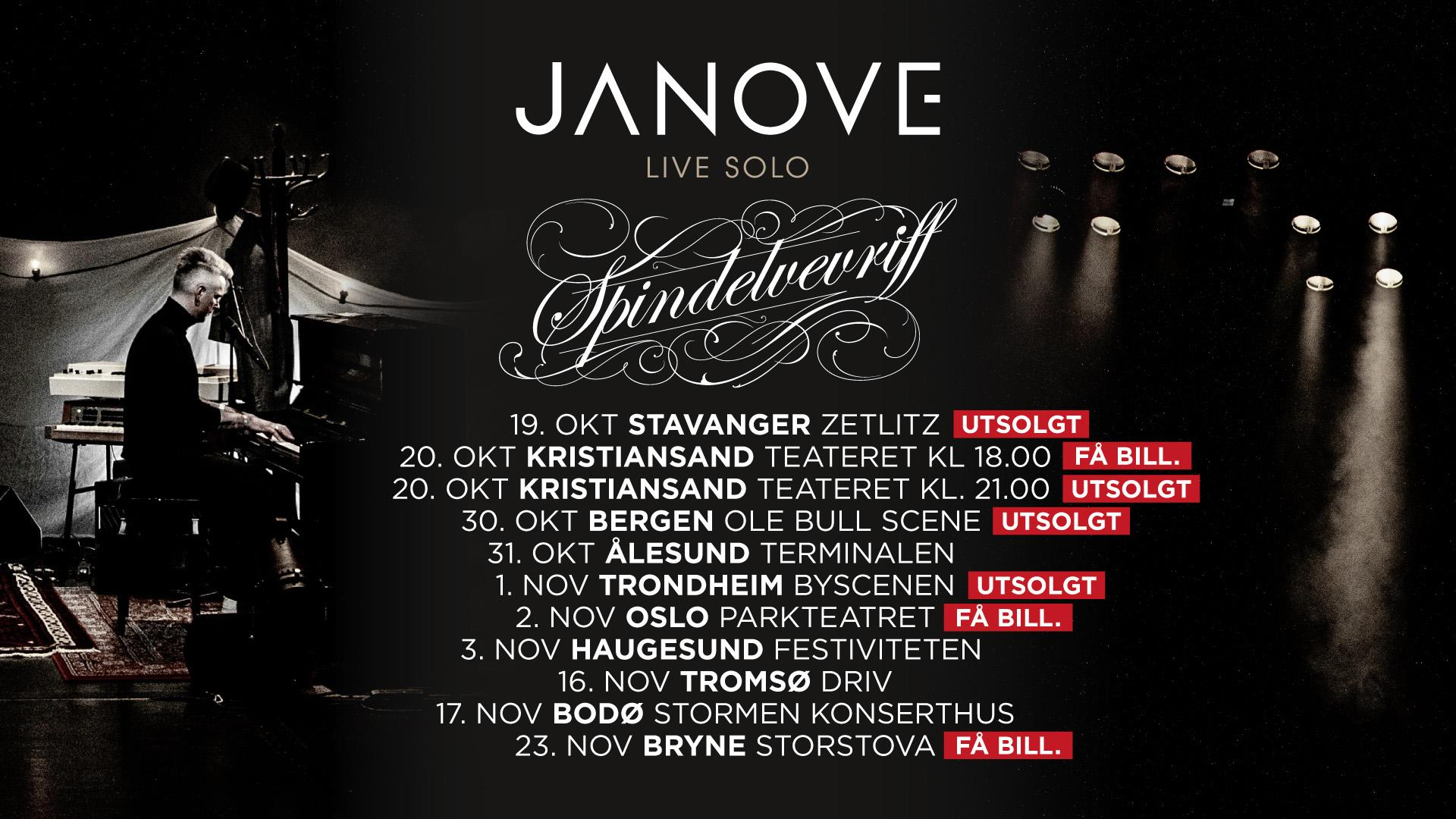 Spindelevriff Tour