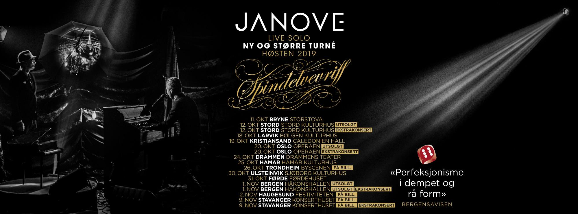 Spindelveviriff Tour 2019