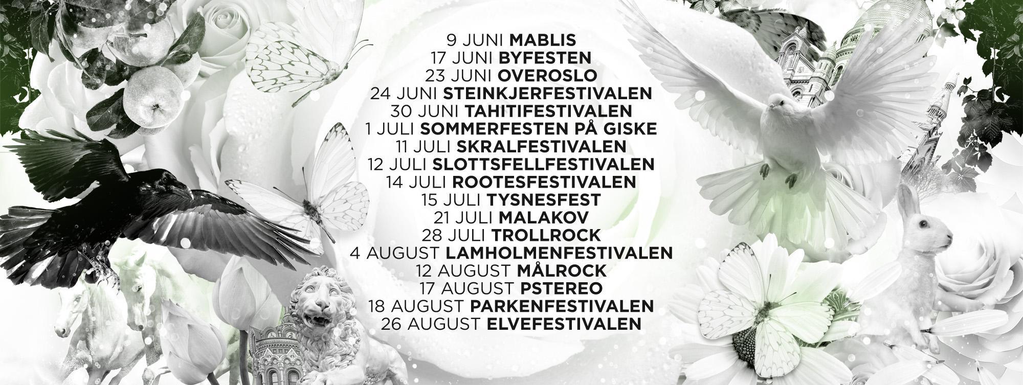 Sommerfestivaler 2017